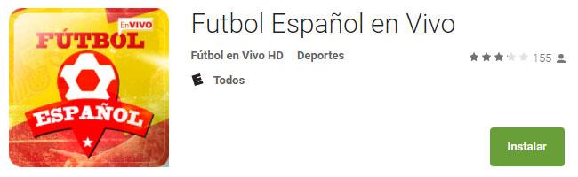 Fútbol Español en Vivo
